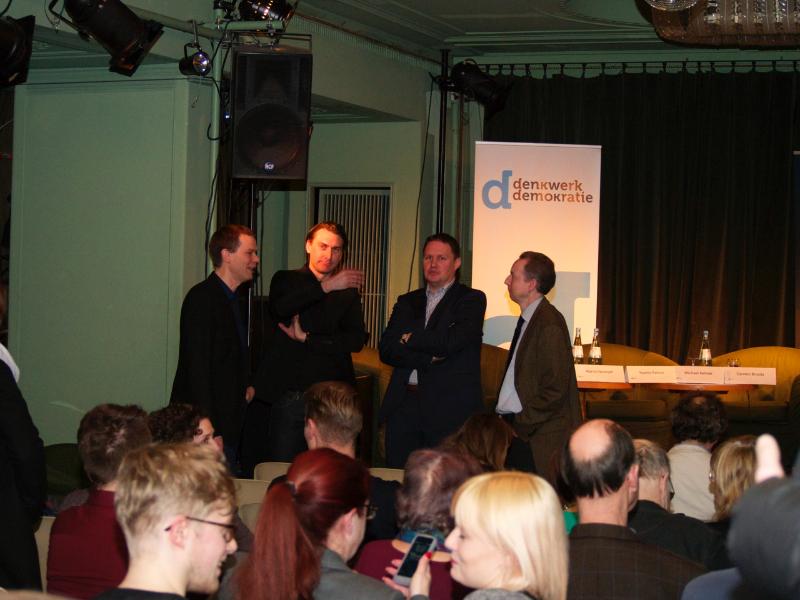 Martin Nonhoff, Benjamin Mikfeld, Carsten Brosda, Jürgen Hotz