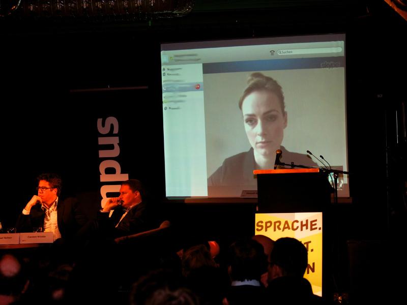 Elisabeth Wehling (via Skype)